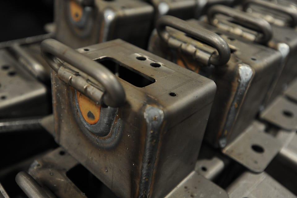 Welded Metal Components