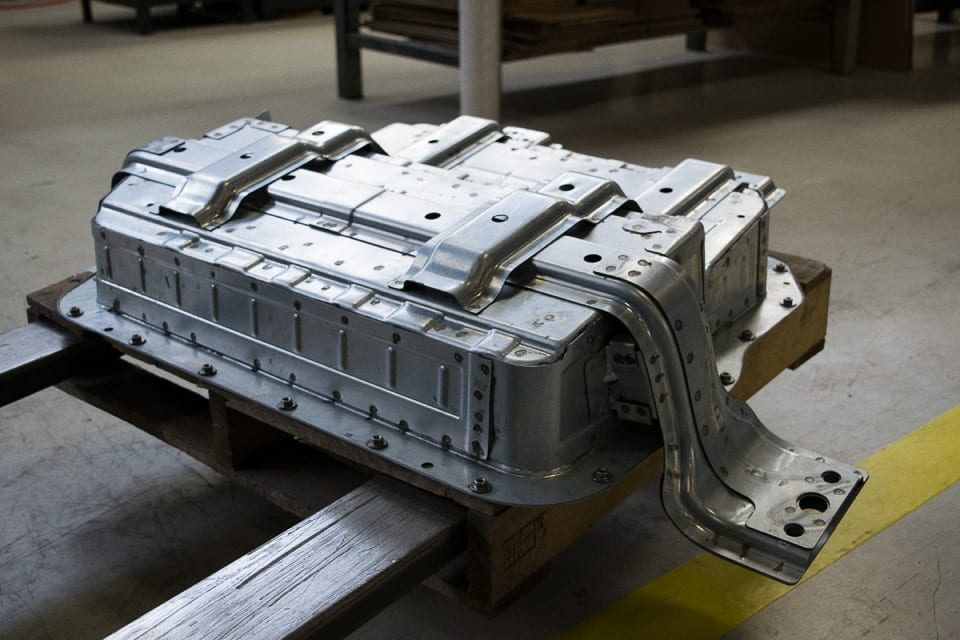 Welded and Riveted Vehicle Component