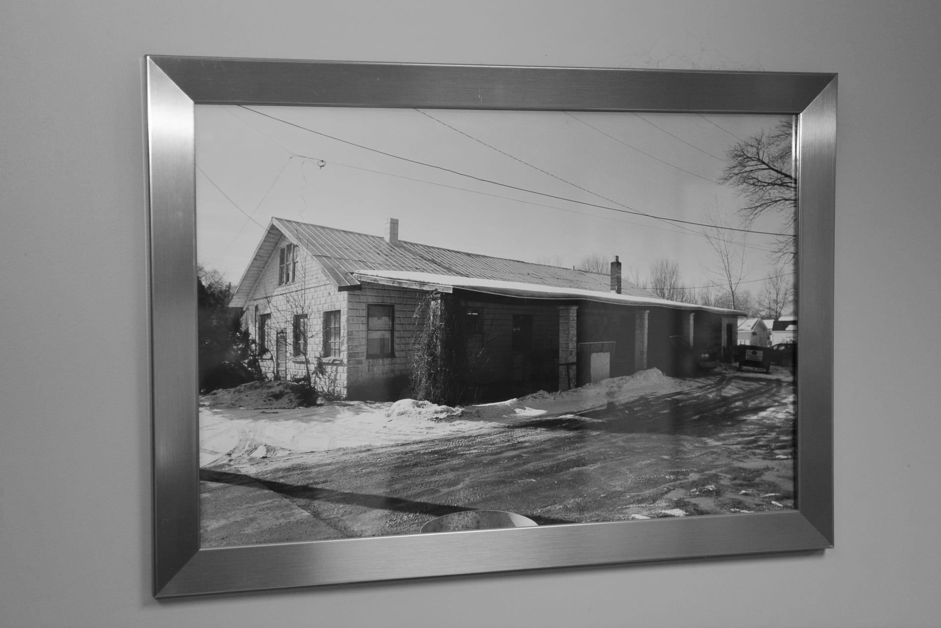 Original Metal Cutting and Welding Building
