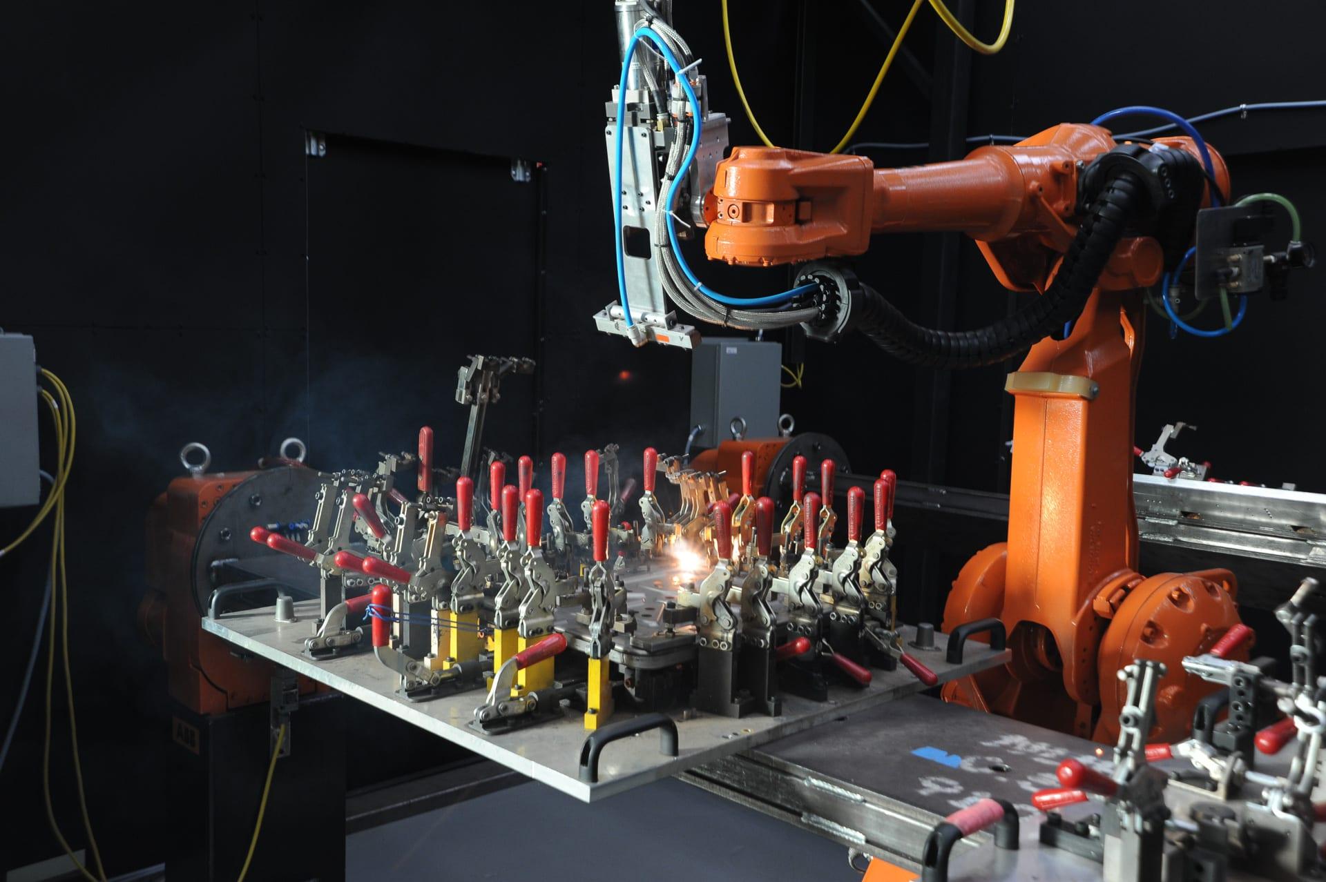 Multi-Axis Robot Laser Cutter